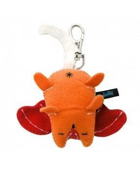 Orange Butch Baby Plush