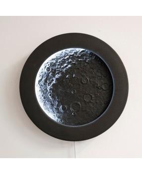 Moon Clock - decorative LED...