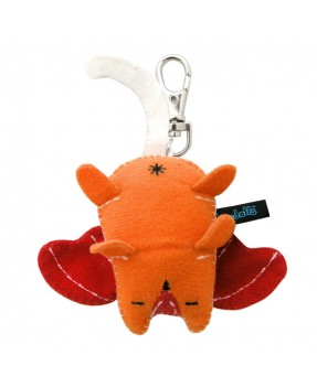 Orange Butch Baby Plush