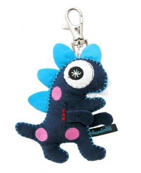 """Mr Nerdie 3"""" Keychain"""